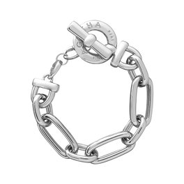 collier grosse maille argent agatha